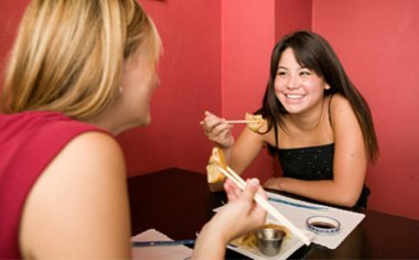 comer saludablemente -en restaurante
