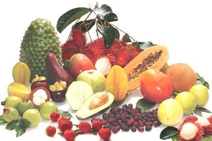 propiedades curativas de las frutas