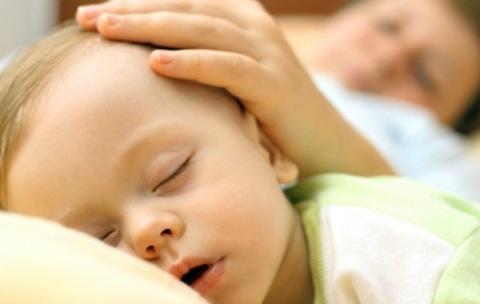 los niños duerman
