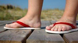 Salud en verano|las chanclas perjudican la salud de los pies