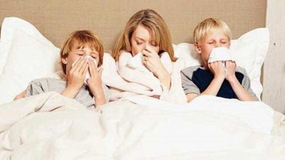 contagio de la gripe
