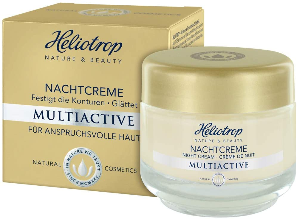 Crema de noche multiactiva Naturkosmetik de Heliotrop