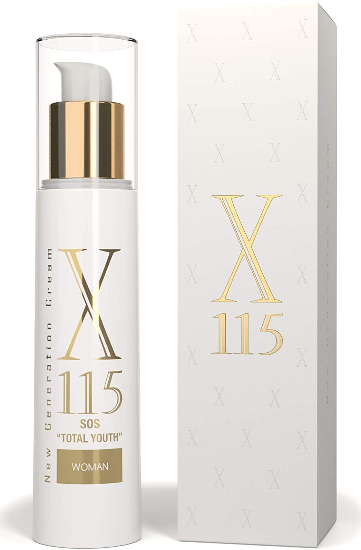 Crema antiarrugas para mujer e hidratante de X115