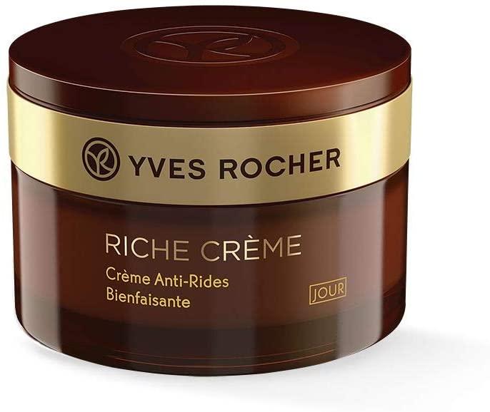 Crema de día antiarrugas Riche Crème de Yves Rocher