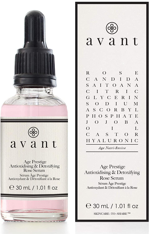 Sérum antienvejecimiento y desintoxicante Rose Age Prestige de Avant Skincare
