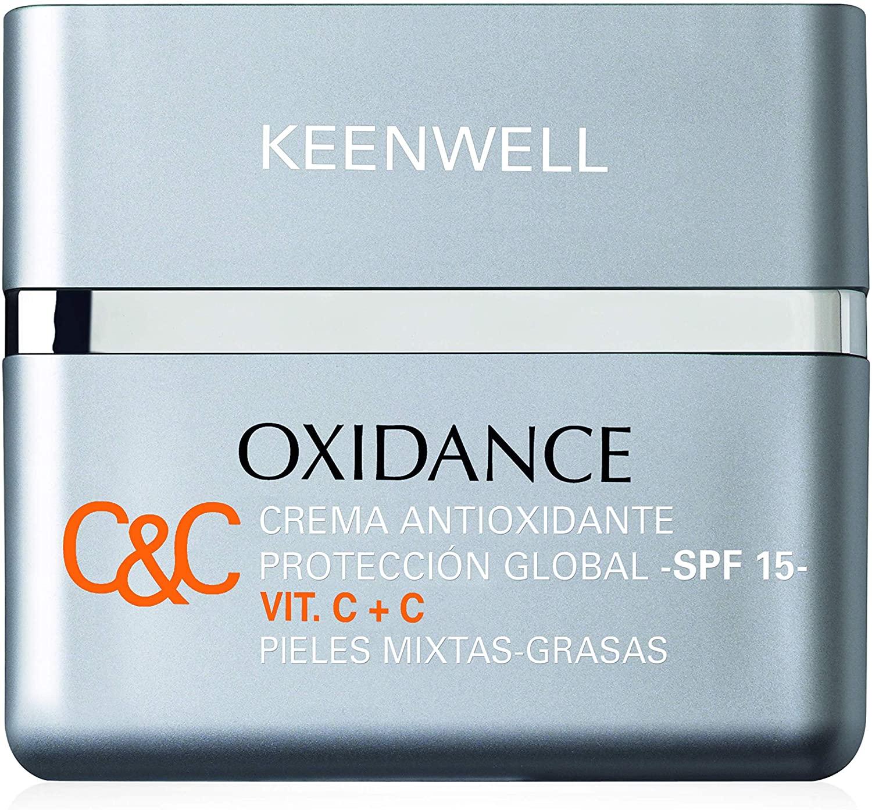 Crema protectora antioxidante e hidratante de Keenwell